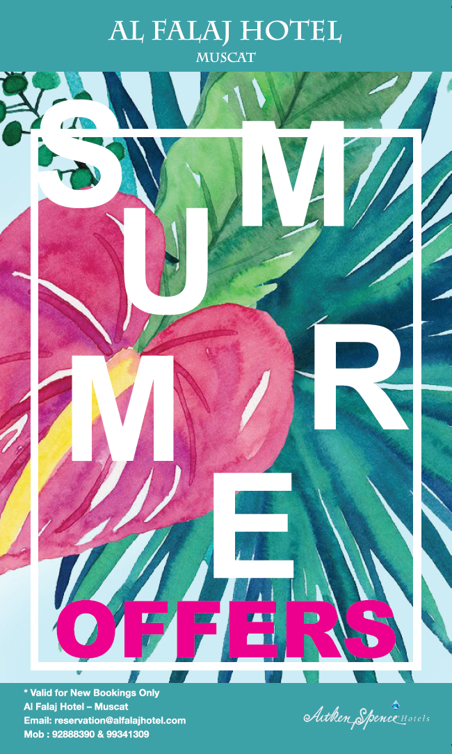 Summer Offers (April – July 2017)