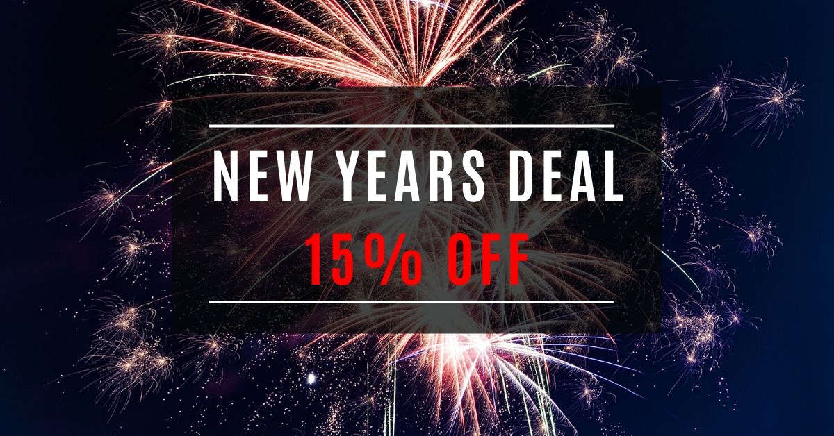Early 2020 Deal 15% Off