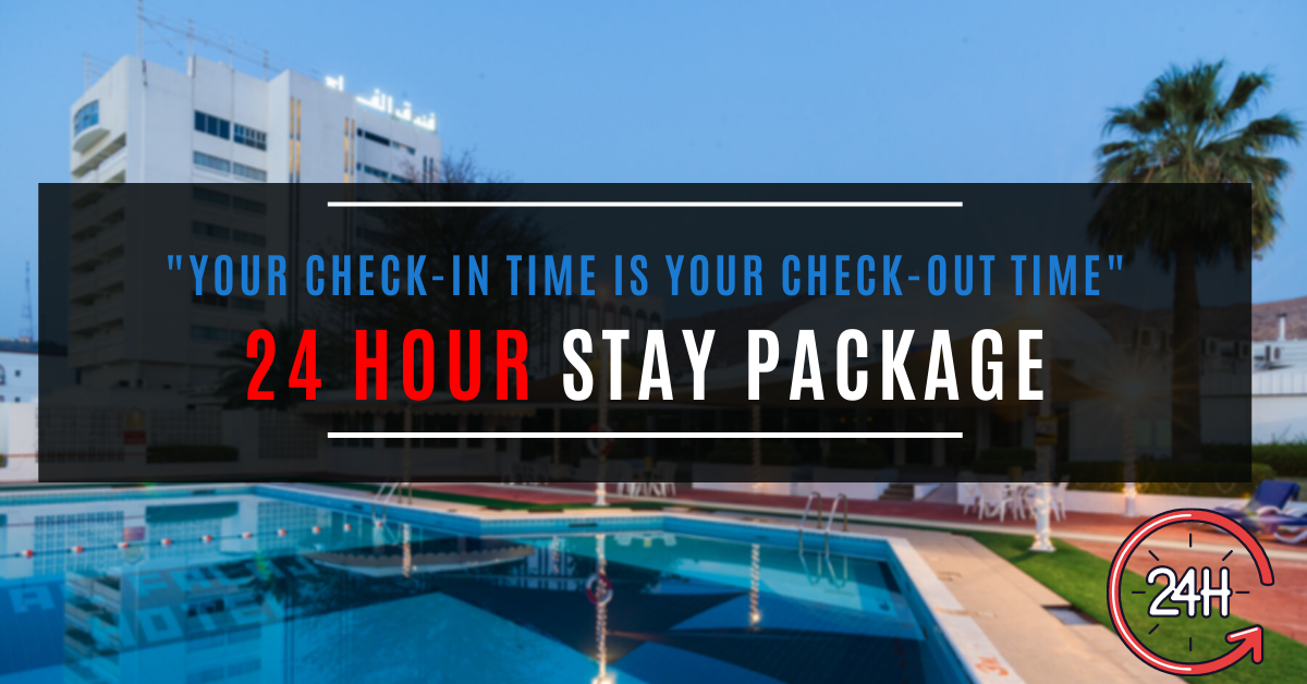 24 HOUR STAY PACKAGE